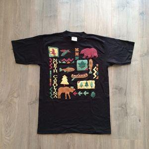 North Carolina Single Stitch USA Made T-Shirt